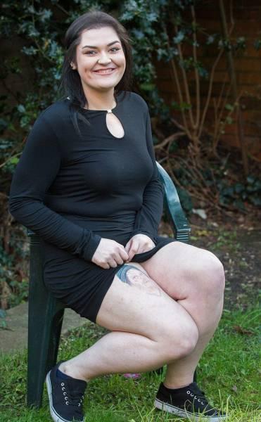 This Woman Got A Ridiculous Tattoo After Making A Drunken Bet