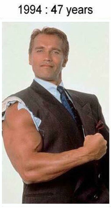 A Look At Just How Well Arnold Schwarzenegger Has Aged ...