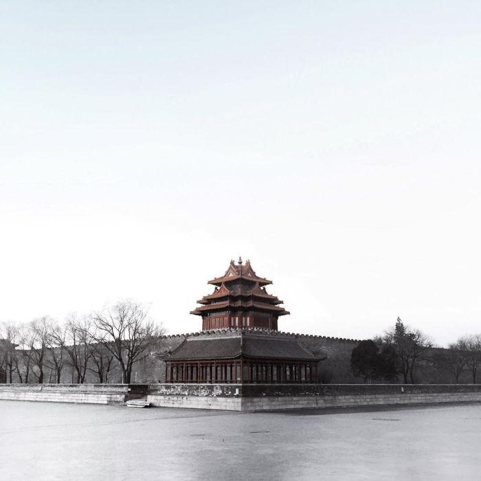 Beijing Looks Like A Ghost Town