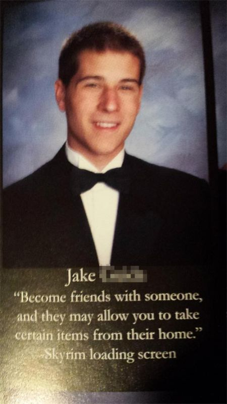 Kids Who Knocked It Out Of The Park With Their Senior Yearbook Quotes
