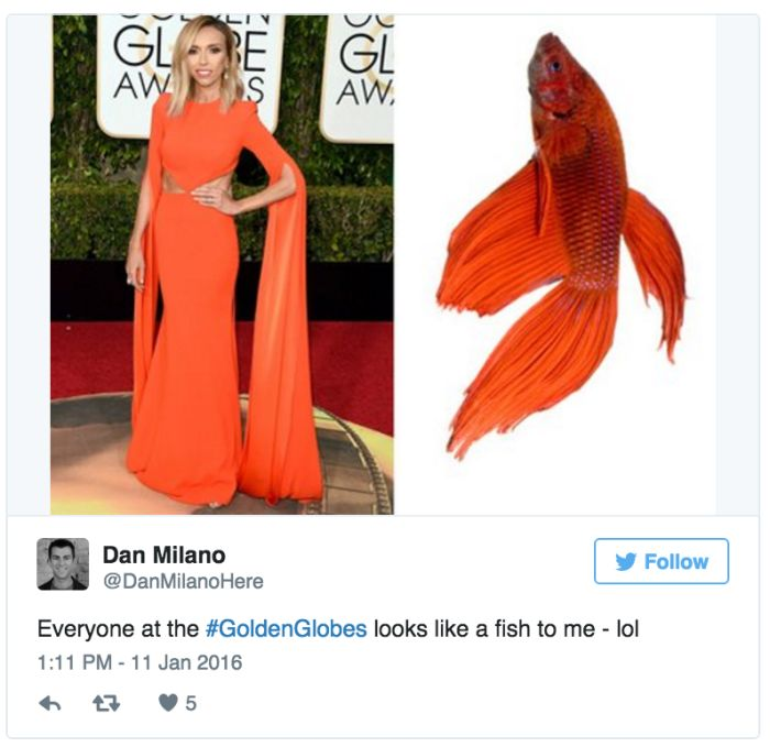 Tweets About The Golden Globe That Were Simply Golden