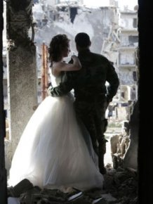 Stunning Wedding Photos Taken In The Ruins Of Syria