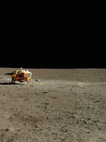 Photos From China's Very First Moon Landing