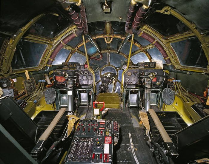 The View From Inside Several Different Cockpits