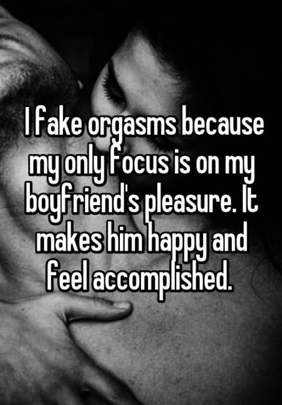 Women Admit The Reasons Why They Fake Orgasms