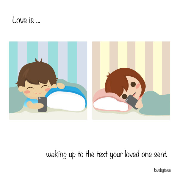 Cute Illustrations That Capture Exactly What Love Is