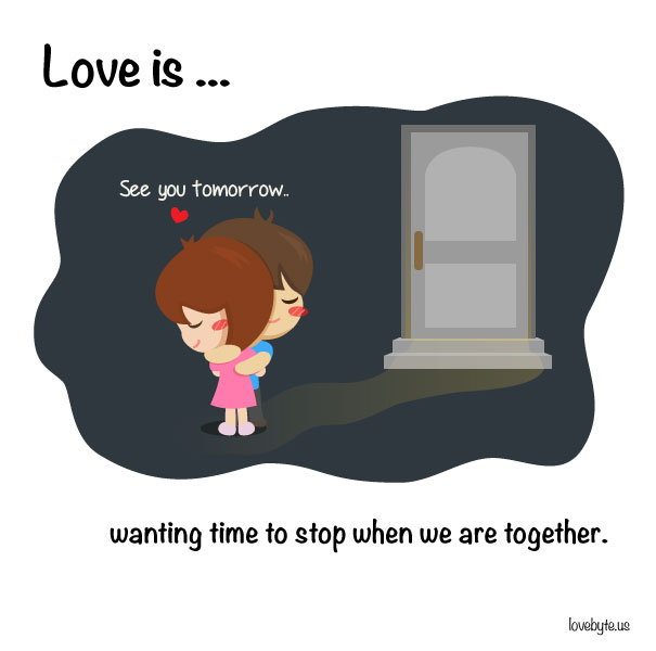 Cute Illustrations That Capture Exactly What Love Is Others - Cute illustrations capture how love is in the small things