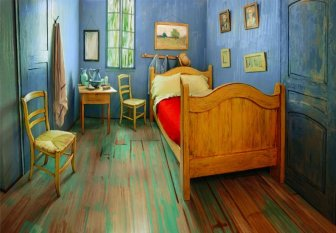 Artists Recreated One Of Van Gogh's Famous Paintings And It's Up For Rent On Airbnb