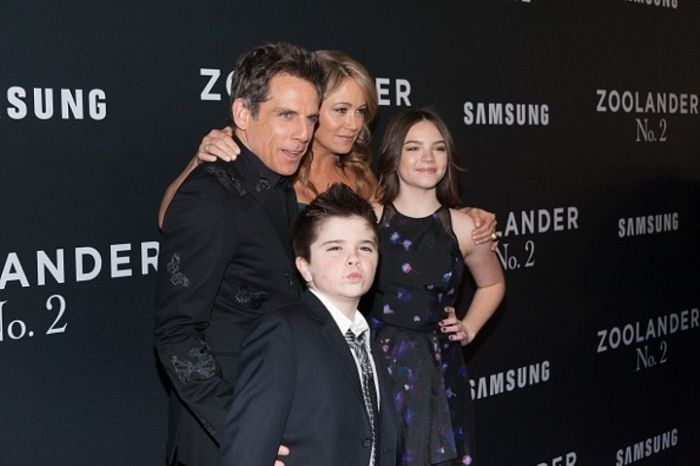 Ben Stiller's Son Busts Out Blue Steel At The Premiere Of Zoolander 2, part 2