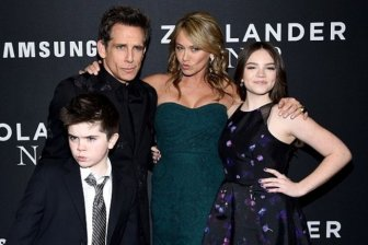 Ben Stiller's Son Busts Out Blue Steel At The Premiere Of Zoolander 2