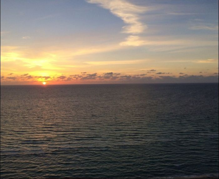Family Shares A Sunset And Sunrise From Half A World Away