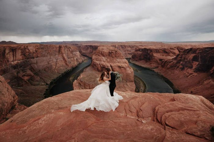 Incredible Wedding Pictures From The Year That Was 2015, part 2015