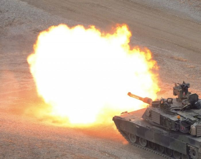 Epic Shots Of Army Tanks In Action