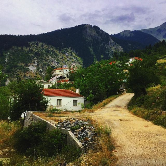 There's A Sinking Ghost Town In Greece