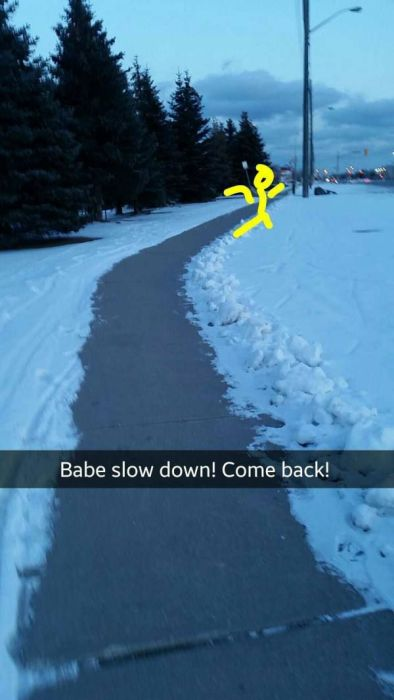 There Are Many Twists And Turns In This Girl's Fake Snapchat Date