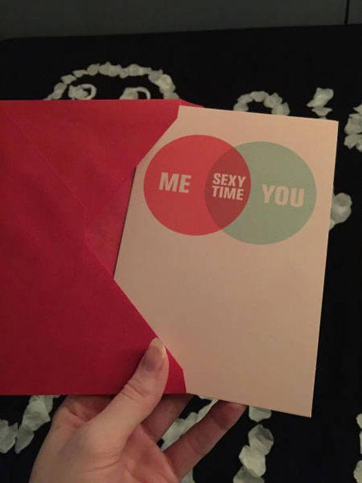 Girlfriend Sets Up Special Surprise Present For Her Boyfriend On Valentine's Day