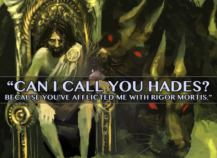 Mythological Pick Up Lines Of Epic Proportions