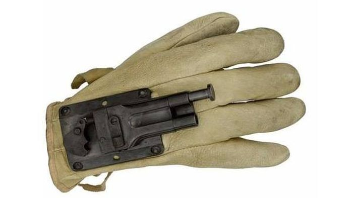 The Glove Gun Gives You A Pistol On Hand At All Times