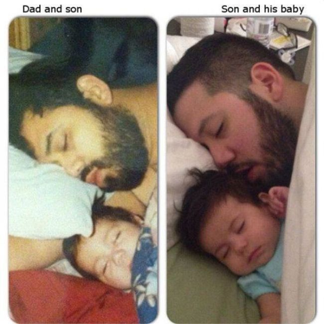 There's A Reason Why They Say Like Father, Like Son
