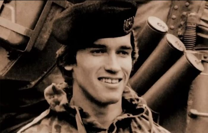 Photos From Arnold Schwarzenegger's Army Days