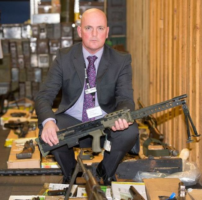 Police Find Huge Arsenal Belonging To A Parish Council Chairman