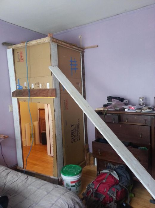 Man Comes Home And Finds Out His Room Is Now A Closet