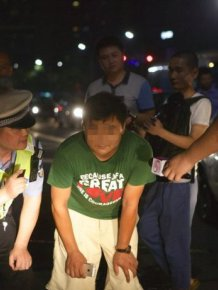 Chinese Police Found A Perfect Punishment For Drivers That Always Use High Beams