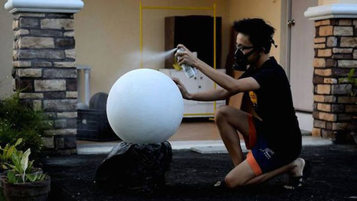 Filipino Teen Builds His Own Working BB-8 Droid From Star Wars