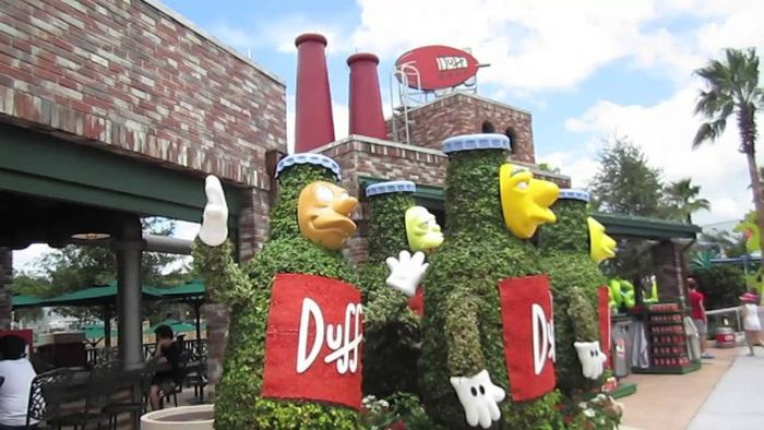 The Simpsons' Hometown Of Springfield Comes To Life At Universal Studios Orlando