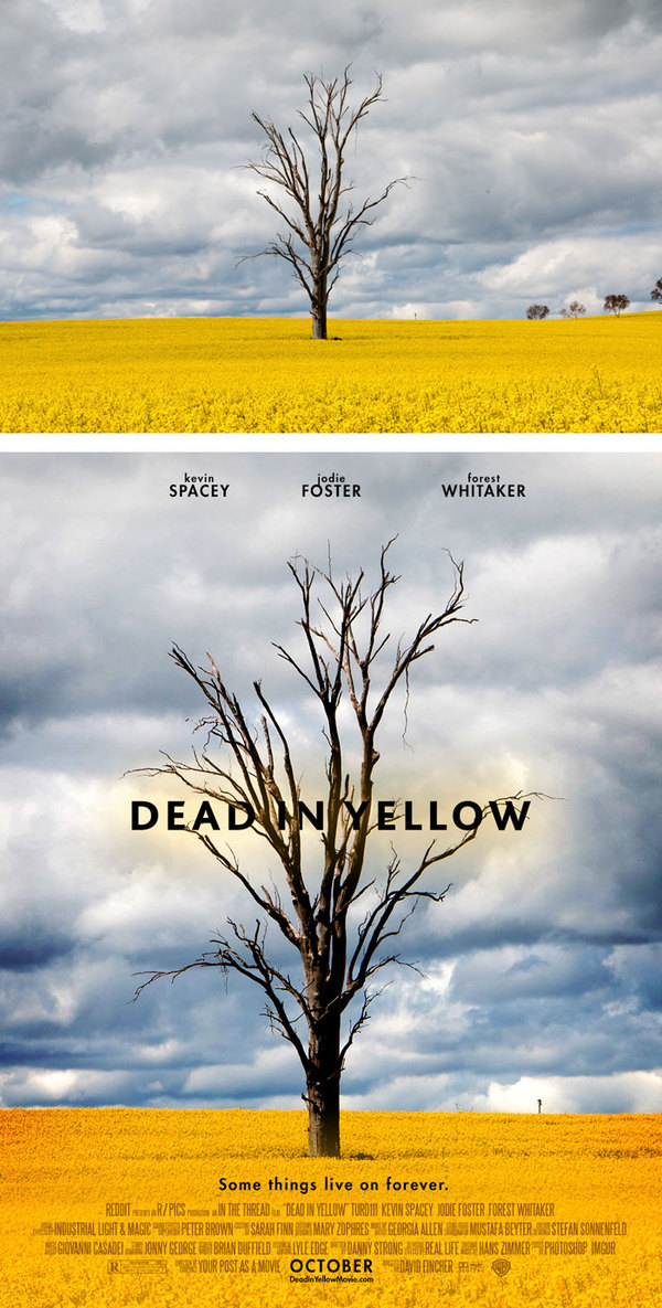 Regular Photos Get Transformed Into Epic Movie Posters