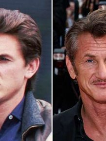 Aging Celebrities Side By Side With Their Younger Selves