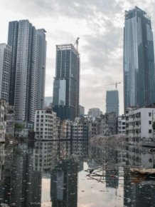 This Chinese Village Sits In The Shadows Of Tall Skyscrapers