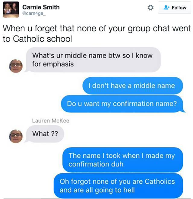 Problems That All Catholic People Can Relate To