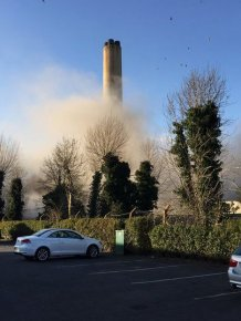 Several People Injured And One Dead After The Didcot Power Station Explodes