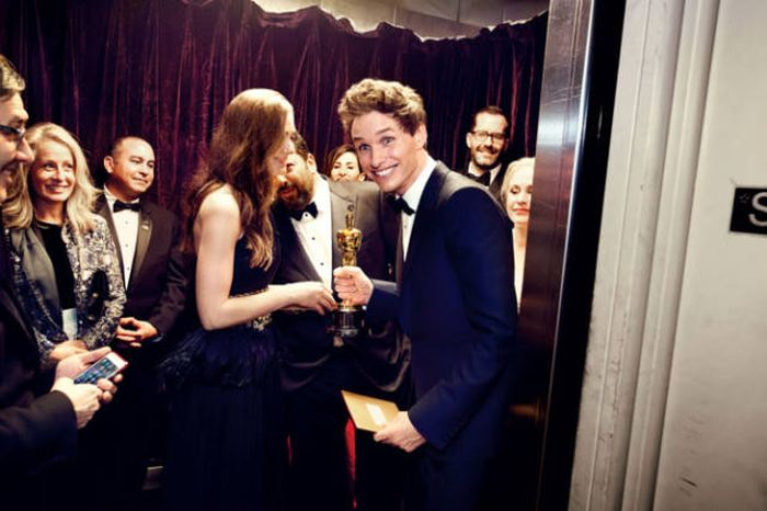 All The Best Behind The Scenes Photos From The Oscars