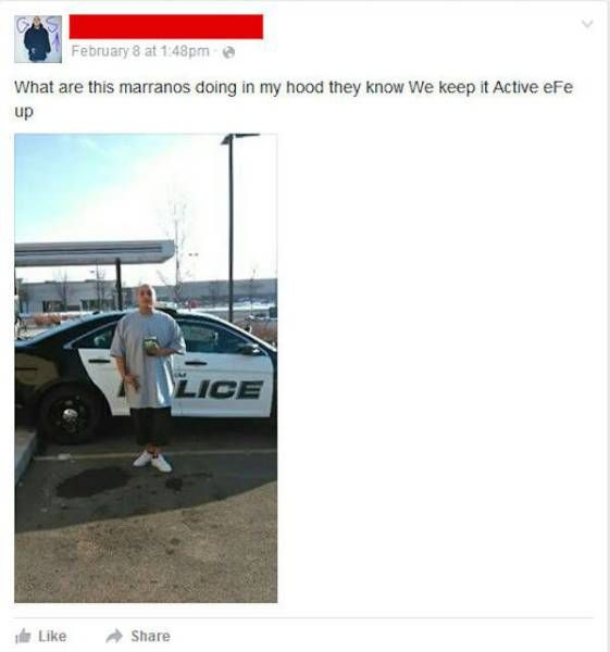 Wannabe Gangsta Gets Owned By The Police