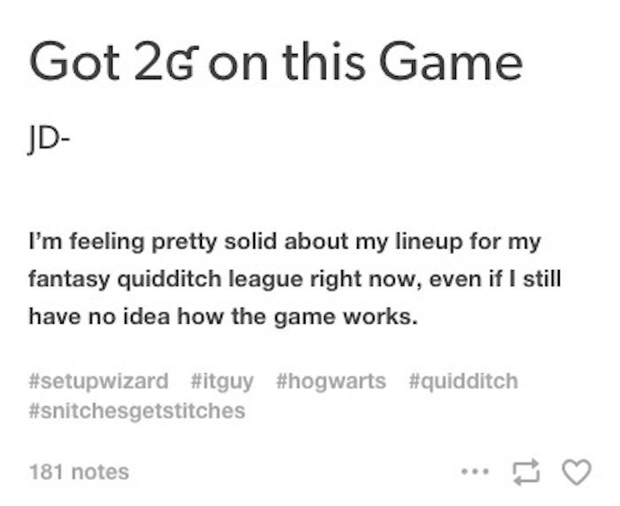 If Hogwarts Had An IT Guy This Would Be His Life