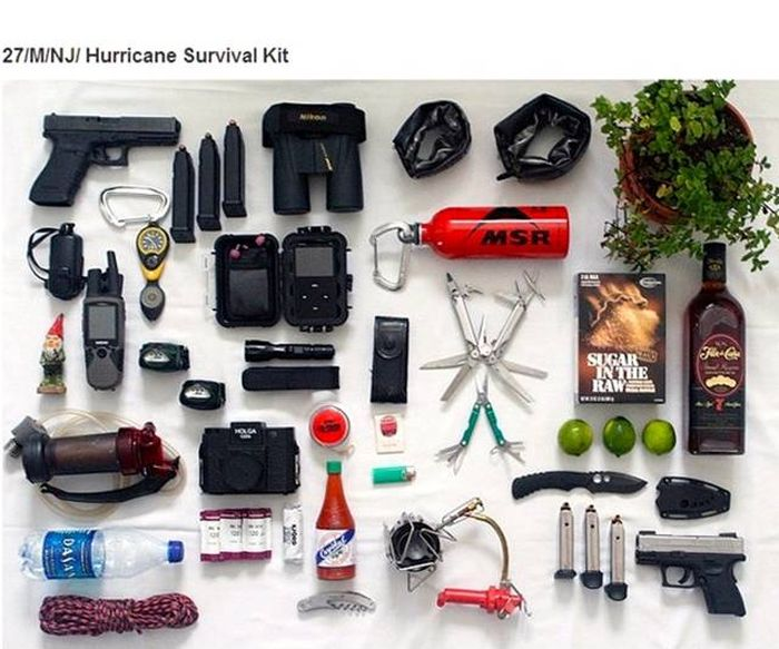 Photos That Show Items People Carry And How They Reflect Their Lifestyle