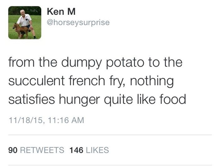 Ken M Has Returned To Troll The Internet Once Again