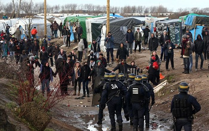 Demolition Teams Are Taking Down The Jungle In Calais