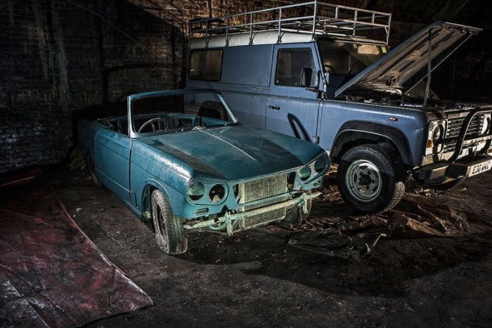 Two Dozen Vintage Cars Have Been Wasting Away In A Liverpool Tunnel