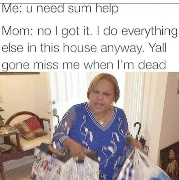 We've All Had These Conversations With Our Mom At Some Point