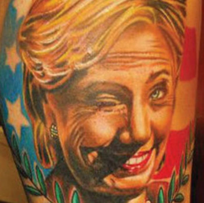 Terrible Political Tattoos That These People Will Probably Live To Regret