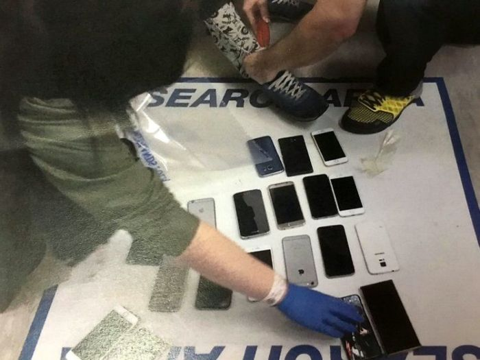 Thieves Get Busted After Pickpocketing Several Cellphones