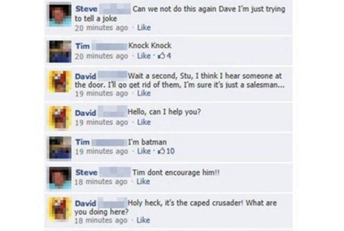 It Didn't Take Long For This Knock Knock Joke To Get Out Of Control