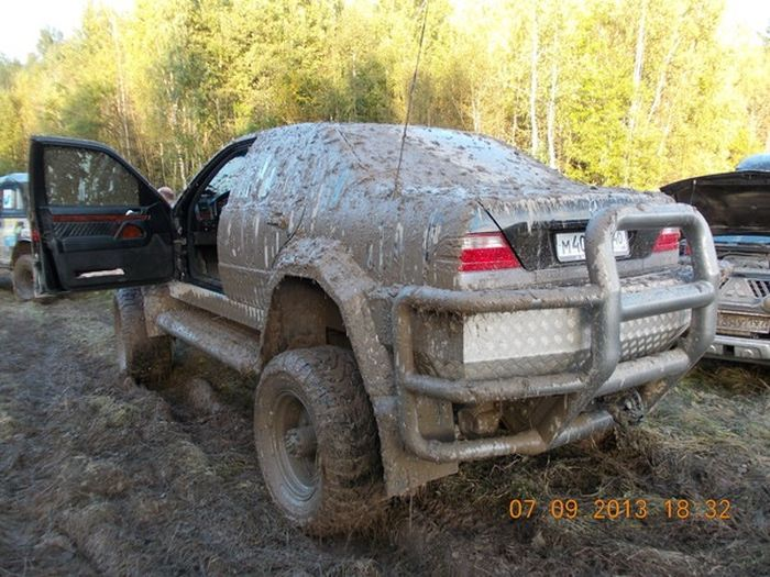How To Turn A Mercedes Into An Off Road Vehicle