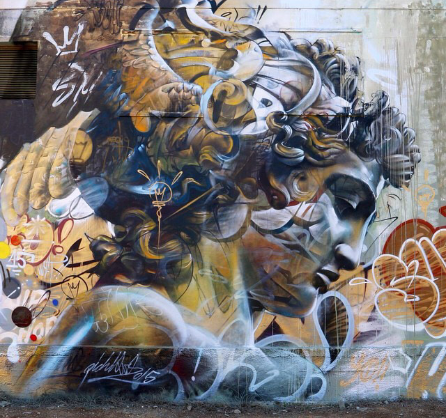 PichiAvo's Street Art Is On A Whole Different Level