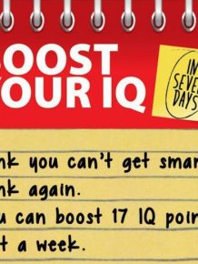 How To Boost Your IQ In Only 7 Days