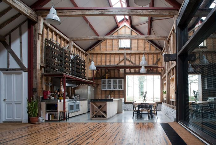 An Abandoned Barn House Was Transformed Into Something Beautiful