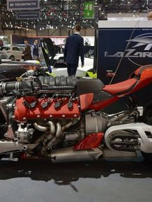 This Maserati Engine Powered Bike Is A Motorcycle Lover's Dream Come True